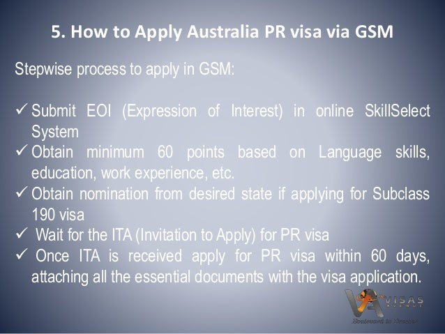 decline on essential skills visa application