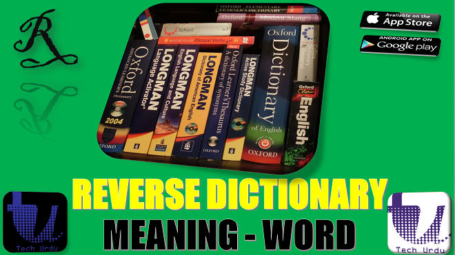 definition to word reverse dictionary
