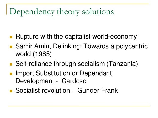 dependency theory latin america pdf