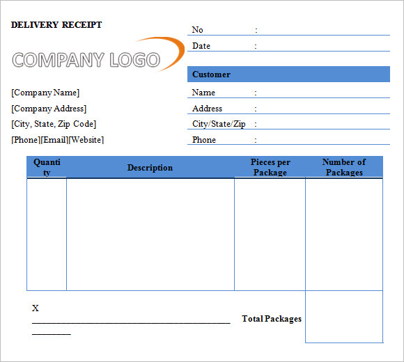 deposit invoice sample
