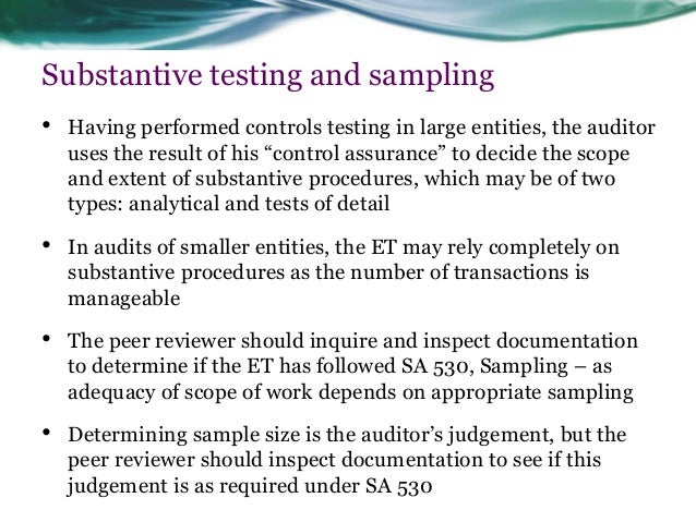 determining sufficient sample size