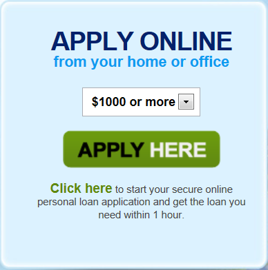 bad credit loans online application