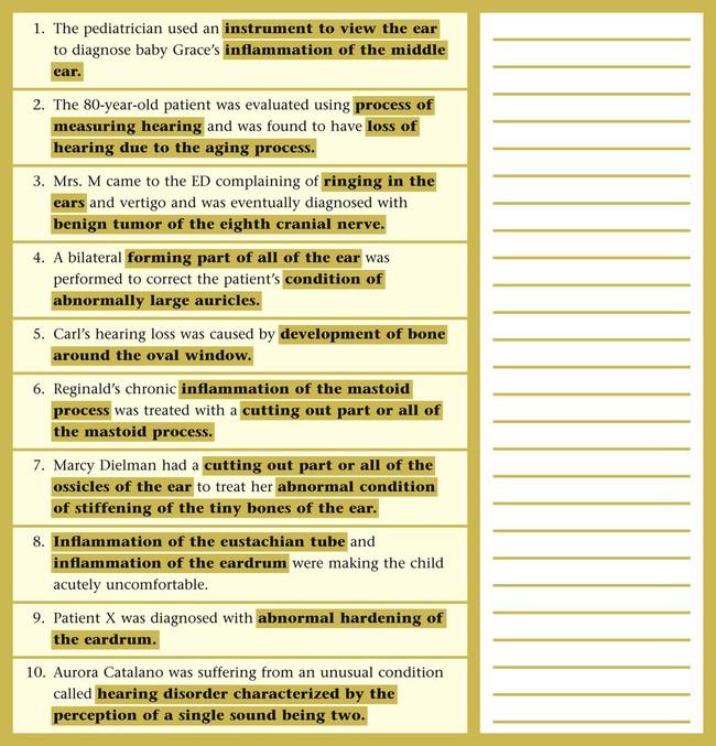 dictionary otalgia
