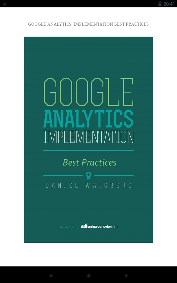 digital marketing analytics book pdf