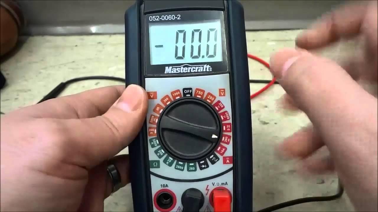 digital multimeter instruction manual