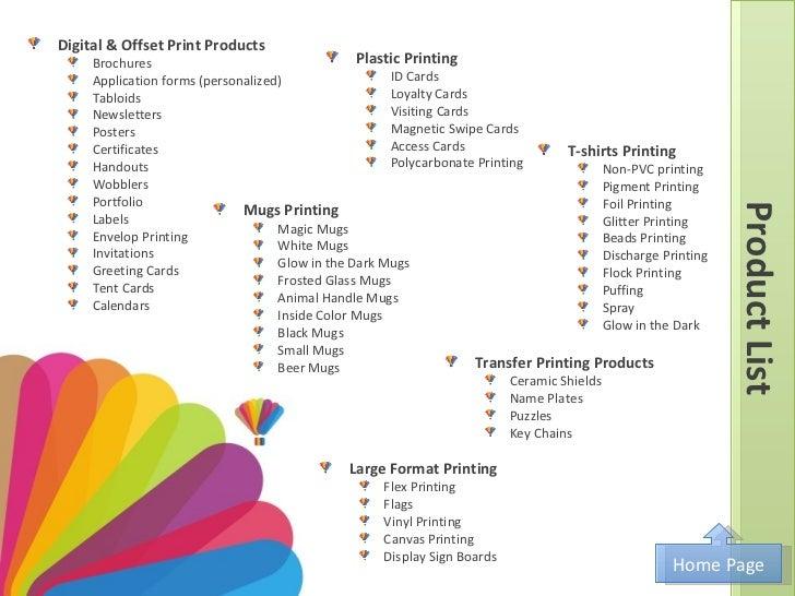 digital printing company profile pdf