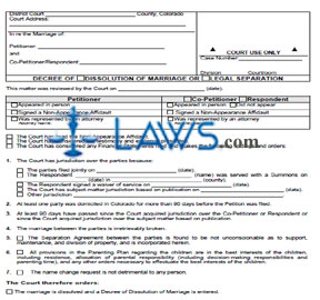 dissolution of marriage application nz