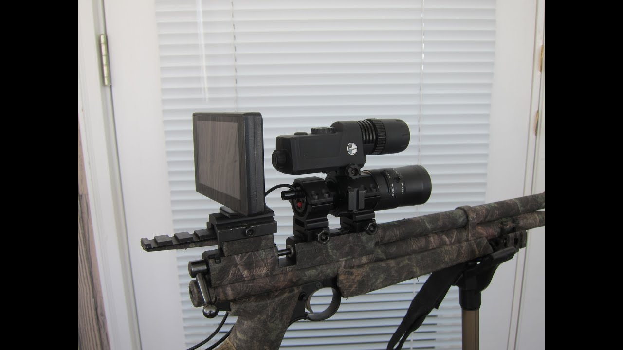 diy mounting guide thermal on rifle