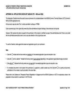 dmrm application form appendix 3
