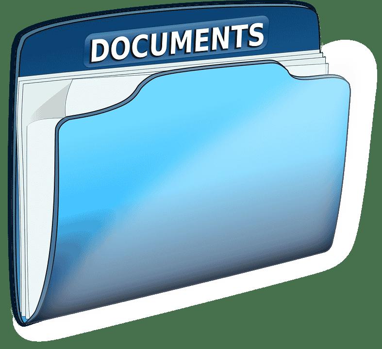 documentation filing or filing documentation