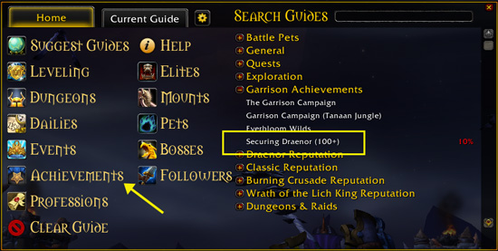 draenor pathfinder guide