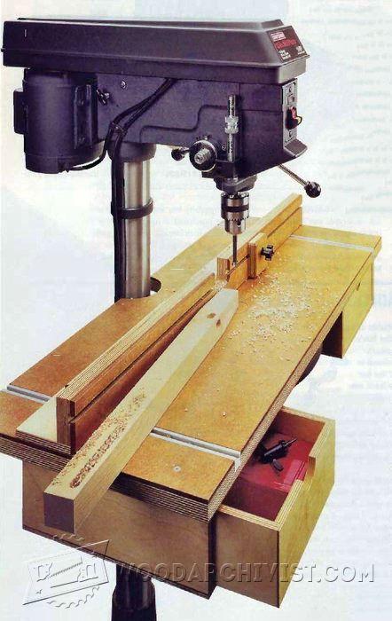 drill press table plans pdf