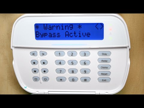 dsc alarm manual bypass