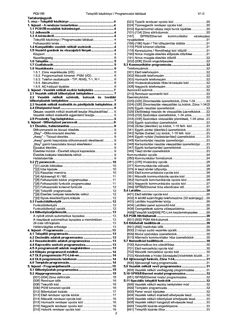 dsc alexor pc9155 user manual
