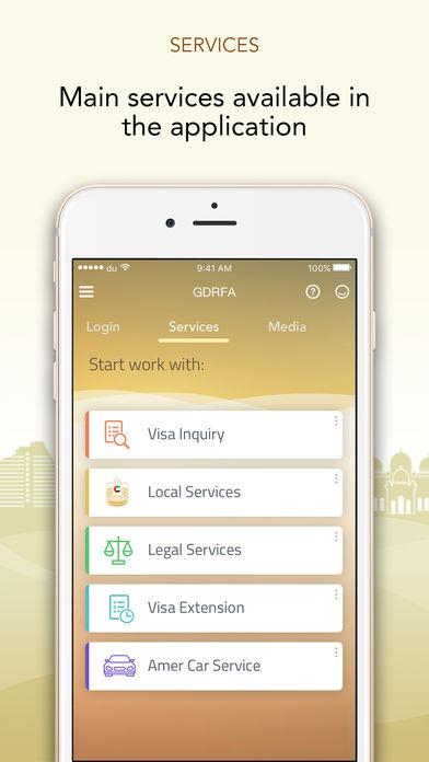 dubai immigration online application status