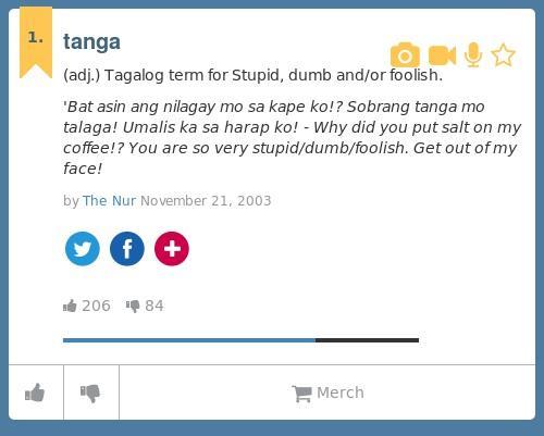 dumb urban dictionary