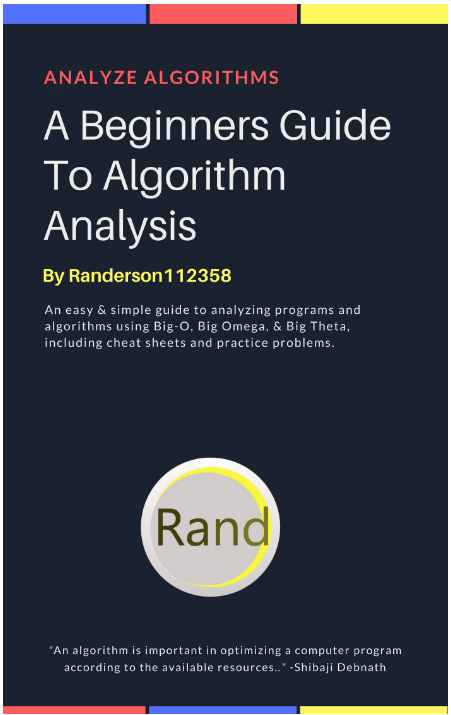 algorithms for beginners pdf