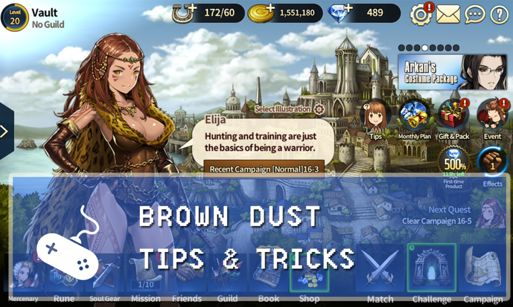 brown dust campaign guide