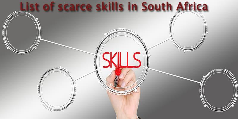 critical skills list south africa 2019 pdf