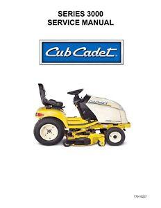 cub cadet m60 tank service manual