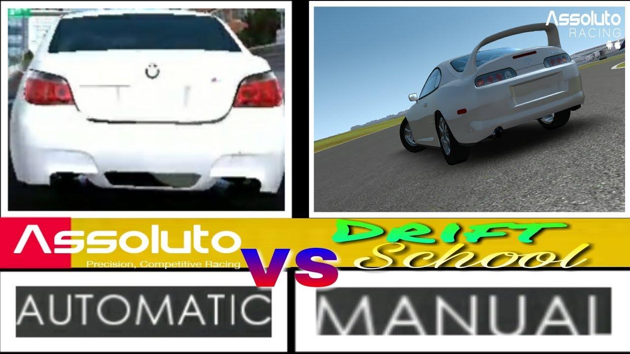 automatic vs manual racing