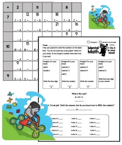 1st grade math workbook pdf