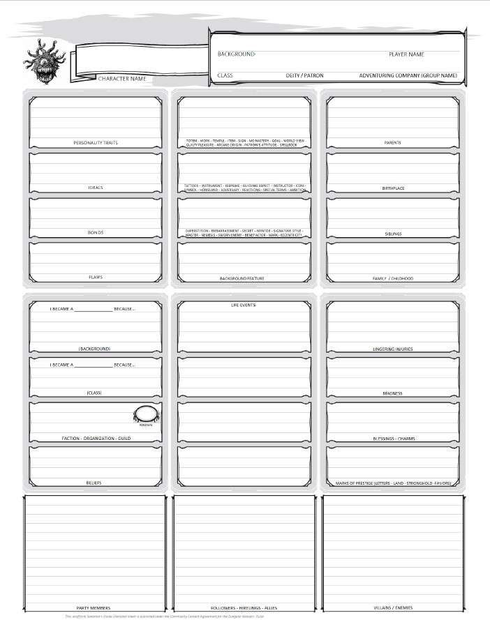 d&d strongholds and followers pdf