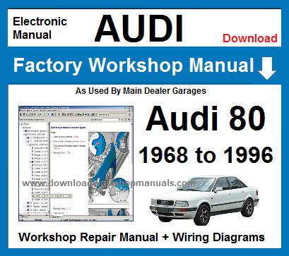 1994 audi 80 workshop manual pdf