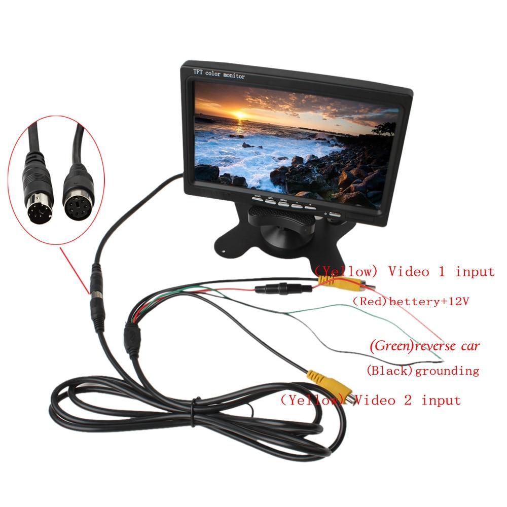 car tft lcd monitor manual