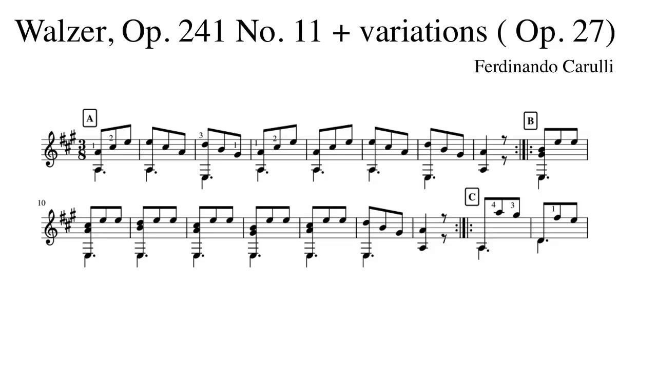carulli guitar method pdf