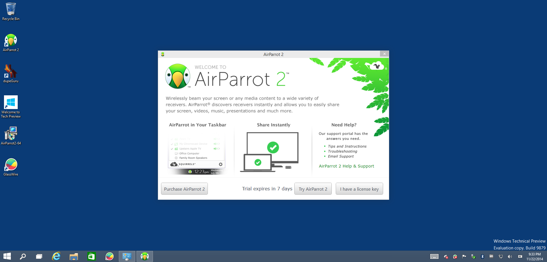 airparrot application