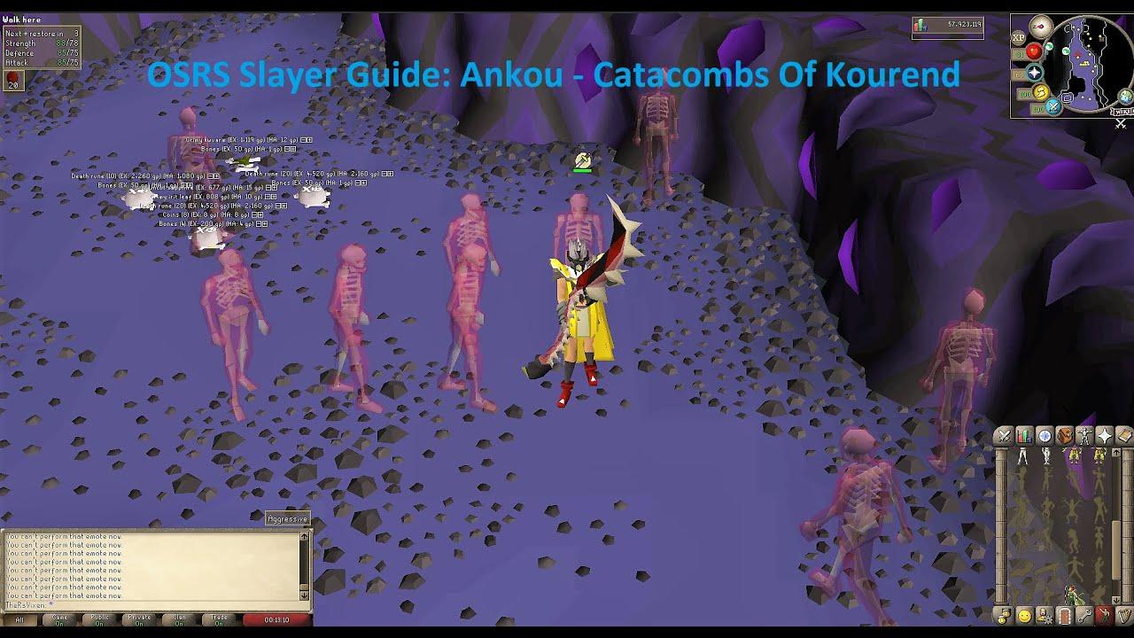 1-99 osrs slayer guide